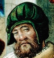 green slashed schlappe 1515-1525