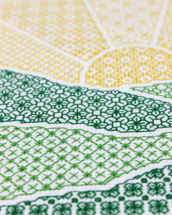 What is blackwork? Blackwork is often referred to as counted thread embroidery. Its a marriage of embroidery and cross stitch. Like cross stitch, it is worked on aida or evenweave fabric. If you are a cross stitcher just think of blackwork as a series of backstitches. While the finished piece may look complex its really not complicated at all. You will follow the pattern by counting just as you would a cross stitch pattern.  Why is it called blackwork? If you research the history of…