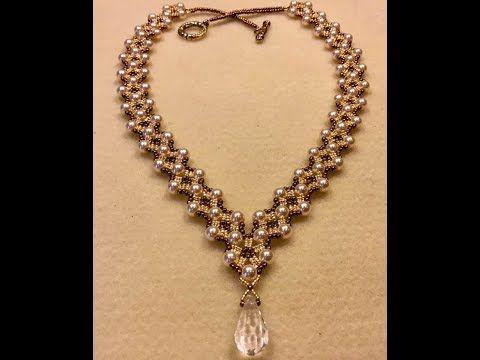 Dressy Diamonds Necklace Tutorial - YouTube