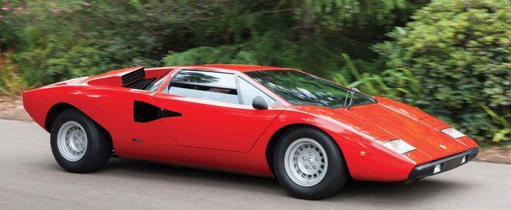 The Lamborghini Countach is a Concept Car Come True
