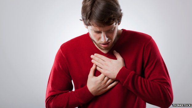 Heartburn 'possible cancer sign' warning / BBC News