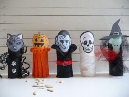 Come trasformare dei rotoli d cartone in spaventosi mostri! - #halloween #faidate #mostri