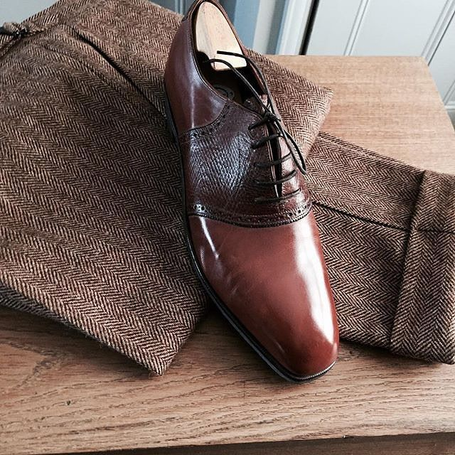 George Cleverley @georgecleverley @ggjr for Mr.Classic @mrjhackett  Picture courtesy of Mr.Jeremy Hackett @mrjhackett #bespokemakers #bespokeshoe #georgecleverley
