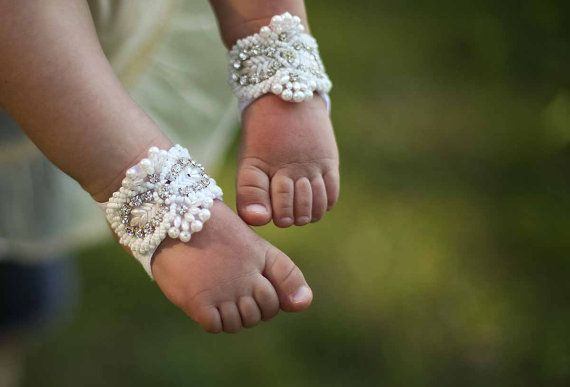 Zoey  Barefoot Sandals  Foot Jewelry  Wedding by StellasDesign, $28.00
