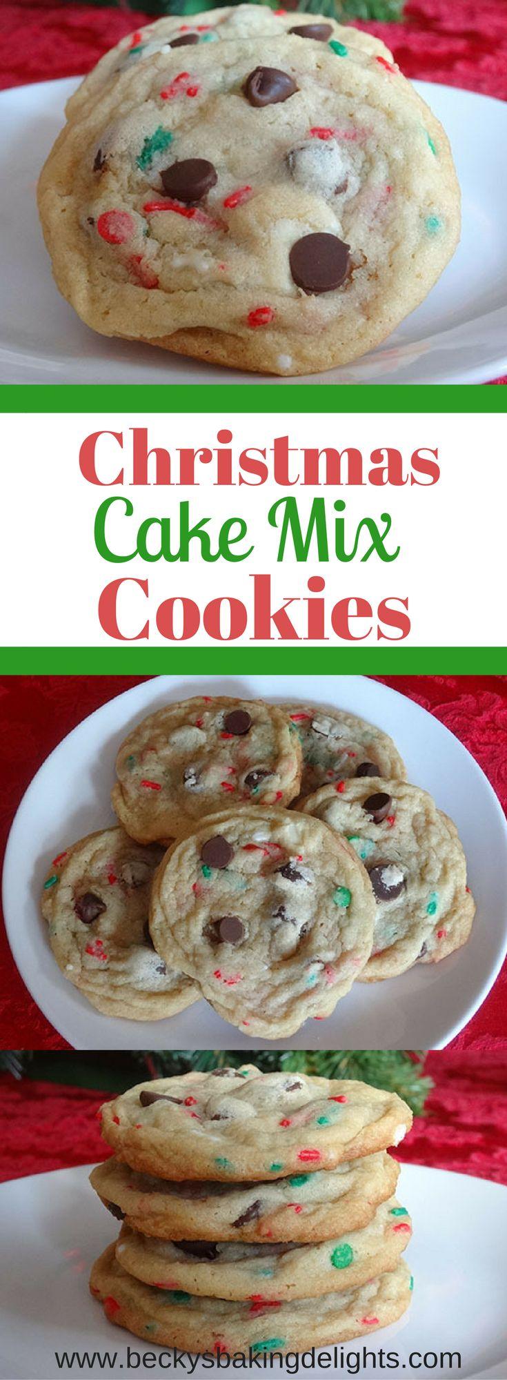 Christmas Cake Mix CookiesCrystal Banks
