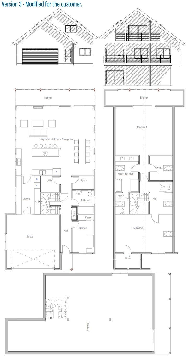 Modified house plan. Customer home.