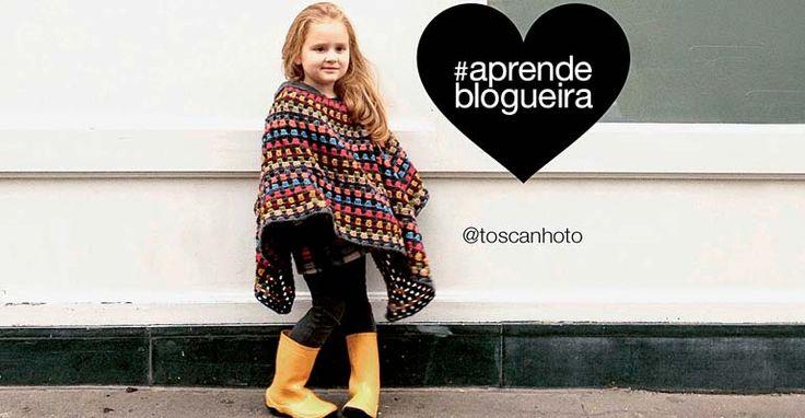 Revista Manequim - Aprenda a fazer o poncho usado por Alice na capa do livro #aprendeblogueira - Alice à Paris