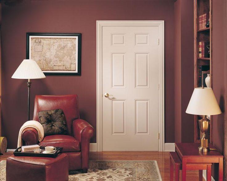 Jeld Wen Molded All Panel Arlington Traditional Six Panel Interior Door  ProCore The Quiet Door