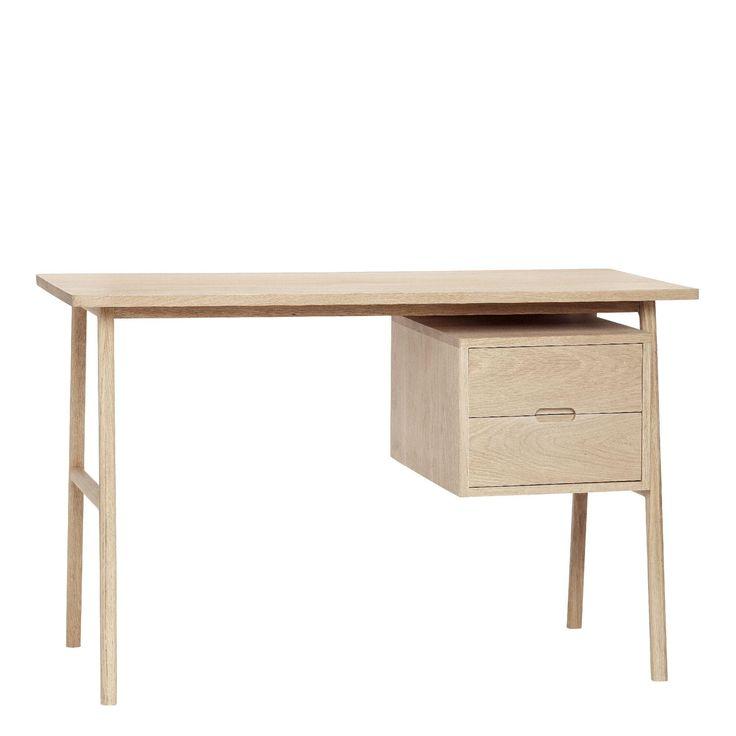 Esgetræskrivebord til kontor og hjem | fra Hübsch Interiør