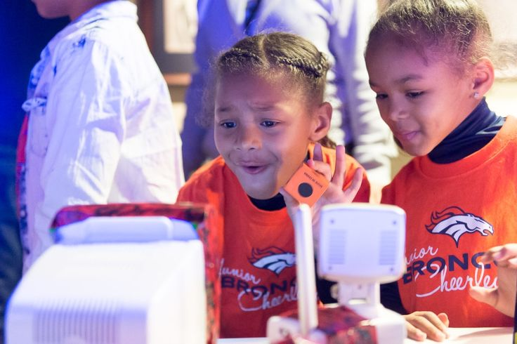 "Arrow Electronics Sponsors ""Girls-Only"" Tackle STEM Experience for Junior Denver Broncos Cheerleaders at Sports Authority Field at Mile High 