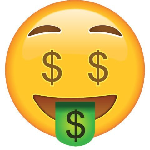 Image result for iphone money emoji