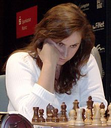 Polgar Judit - Judit Polgar, the strongest female chess player in history. Grandmaster at age 15 (in 1991), the youngest person to do so until then. Currently (2013) the only woman on FIDE's top 100 players list.
