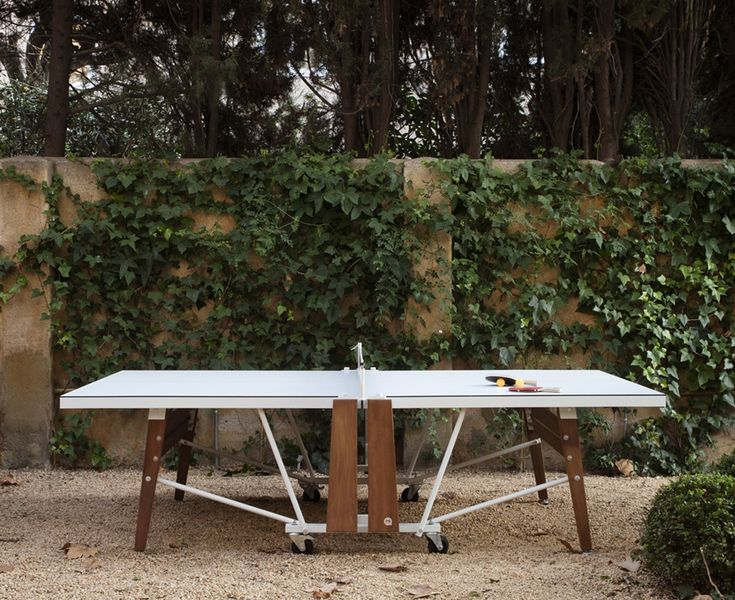 Buy RS FOLDING PING PONG TABLE by DSHOP - Made-to-Order designer Furniture from Dering Hall's collection of Contemporary Game Tables