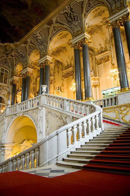 Staircase of Palace Hotel, San Francisco
