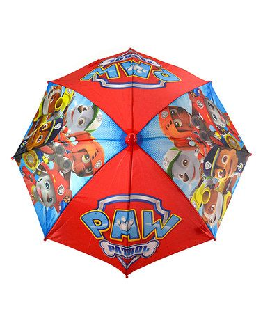 Love this PAW Patrol Umbrella on #zulily! #zulilyfinds