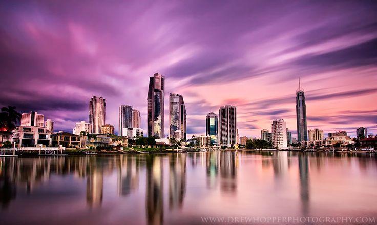 Surfers Paradise - Gold Coast - Queensland, Australia.