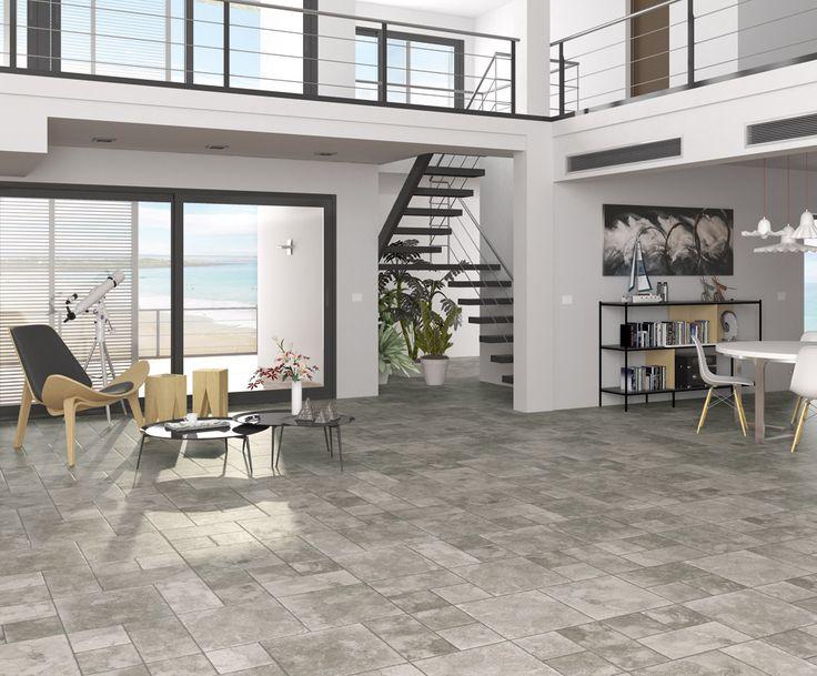 ARCANA Tiles | Via Emilia series | living room | porcelain tile | coverings