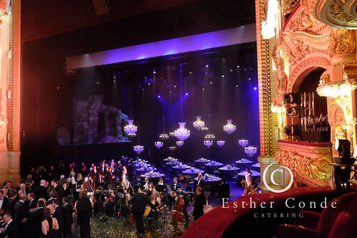 Espectacular cena en el escenario del Liceo de Barcelona