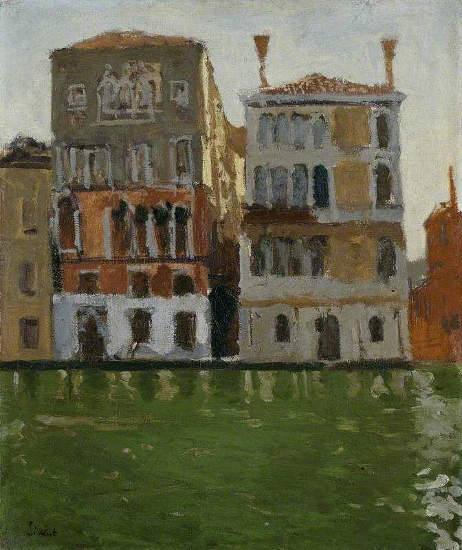 Palazzo Eleonara Duse, Venice - sickert