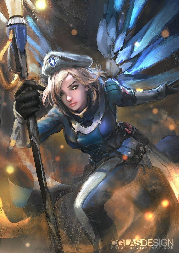 Mercy -Uprising skin- | Overwatch