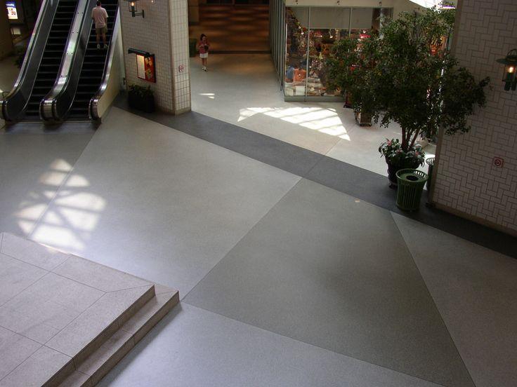 Mall Concourse, Stonhard Floors