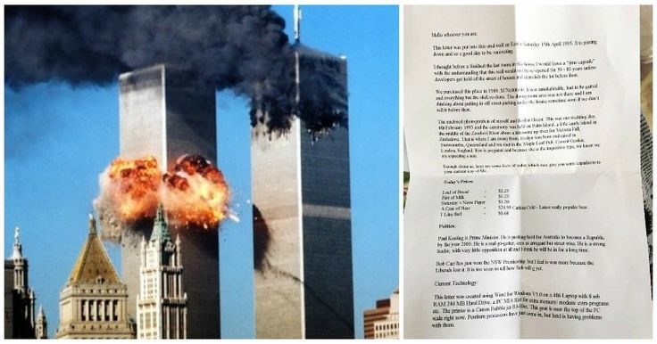Pre-9/11 Time Capsule Discovered In Wall Cavity, Contained Spot-On Prediction About Islam