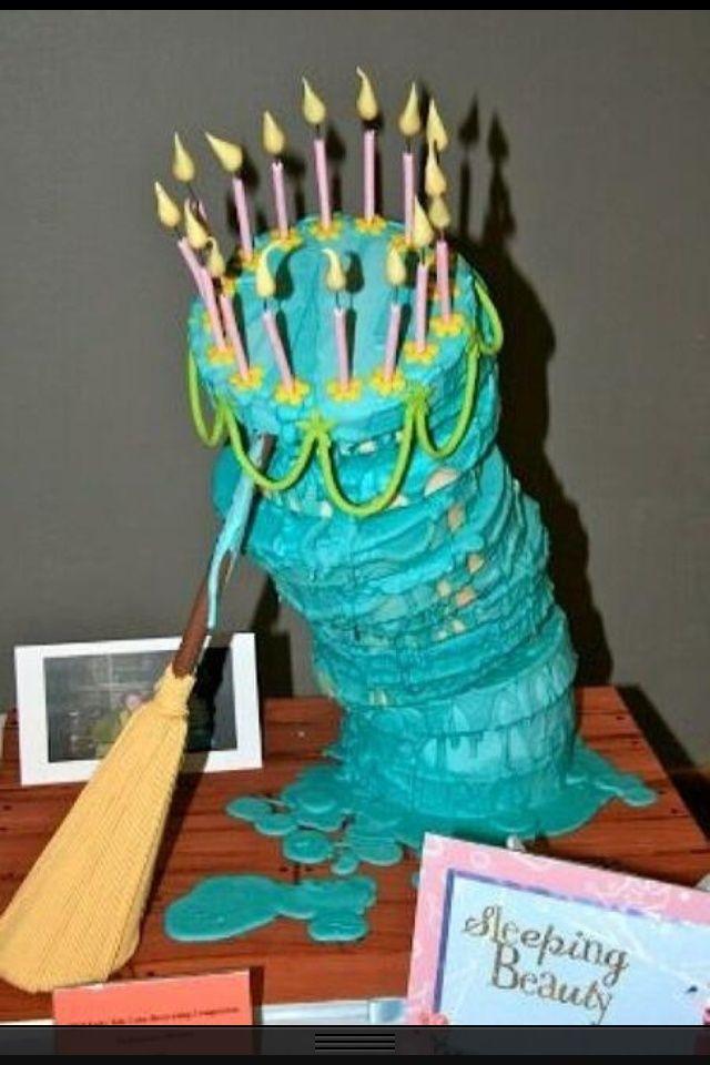 sleeping beauty birthday parties | OMG THE CAKE FROM SLEEPING BEAUTY!!! This is soooo wonderful