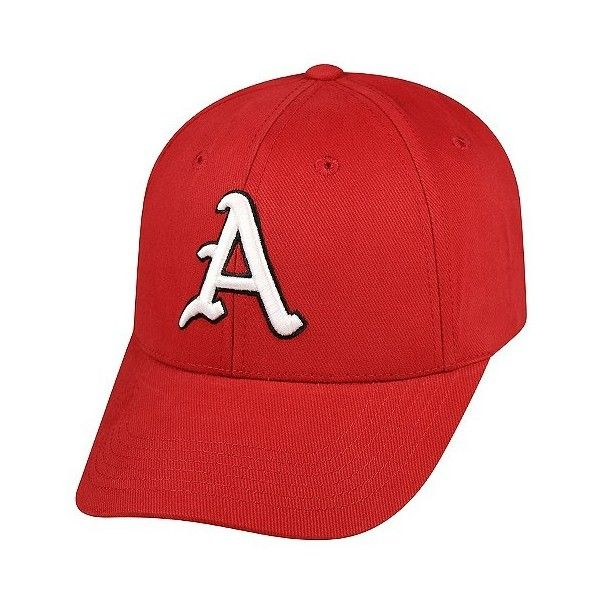 NCAA Vapor Baseball Hats, Adult Unisex, Arkansas Razorbacks (€19) ❤ liked on Polyvore featuring accessories, hats, arkansas razorbacks, baseball hats, cotton baseball hats, ball cap, baseball caps and cotton baseball cap