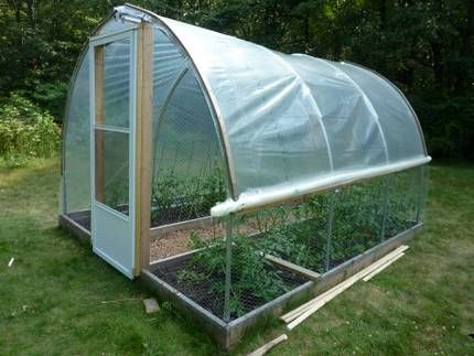 Building A Small Hoop House