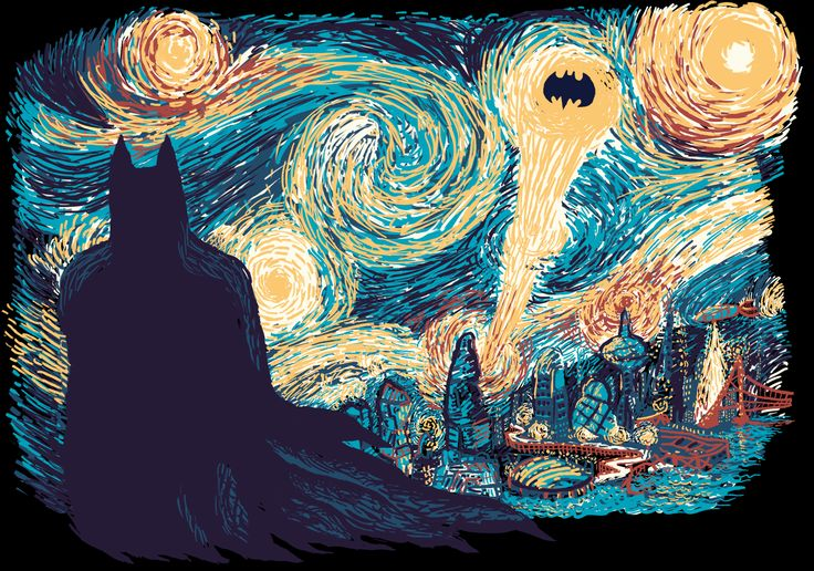 Remade Starry Knight now on sale for 24 hours on Qwertee! Go and get yours fast! :)
