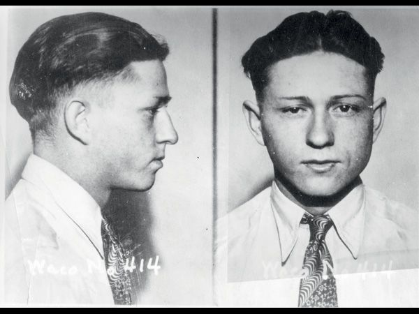 mug shots of a young Clyde Barrow | Pez Carnivoro ...