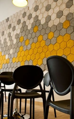 8 best Honeycomb Hexagon images on Pinterest | Acoustic, Acoustic ...