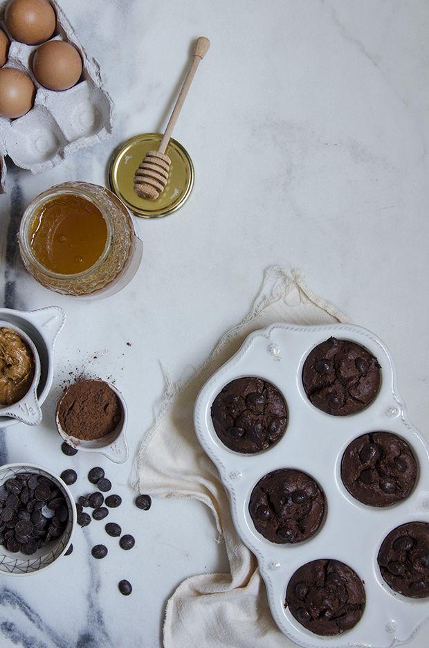 Ananás e Hortelã: Queques de Chocolate e Amendoim