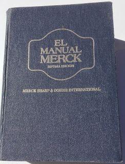 Paraíso del Libro Usado: Manual Merck, Septima Edición