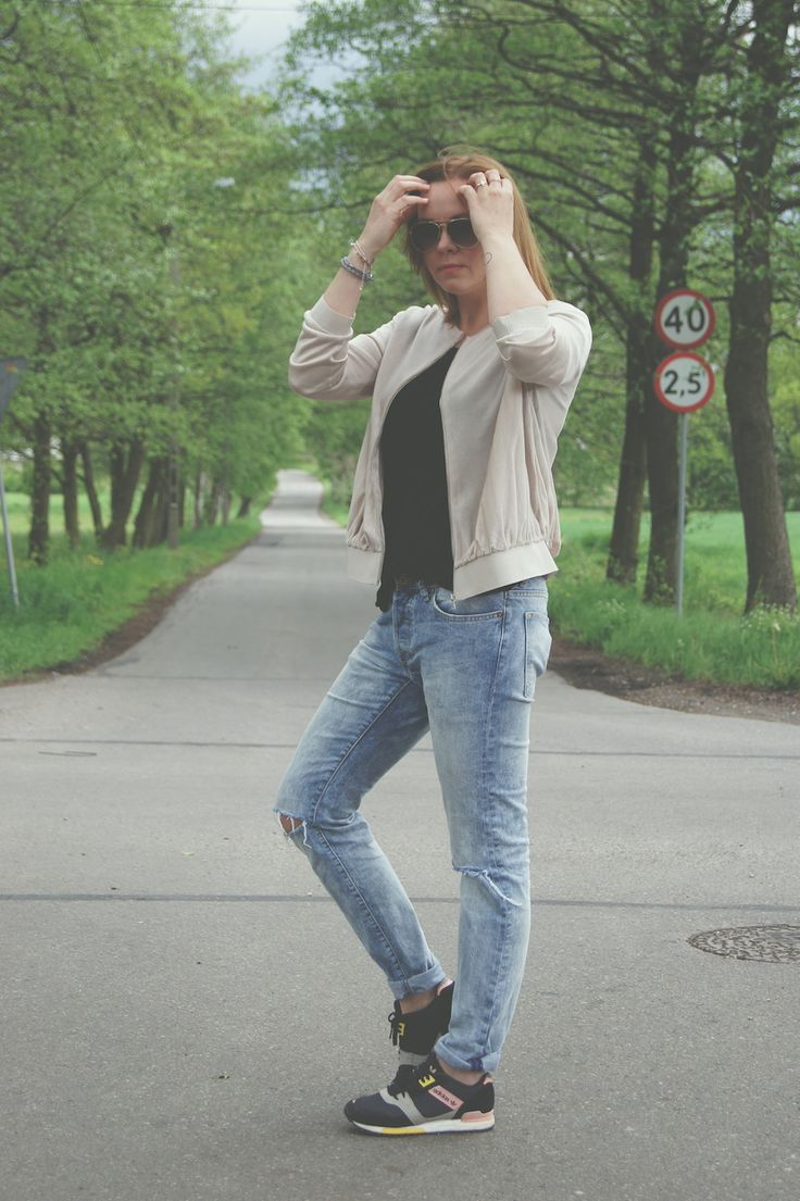 jacket - COS top - Reserved jeans - sh shoes - Sdidas sunglasses - H&M  http://millenniumagelifestyle.blogspot.com/2015/05/old-school-new-school.html