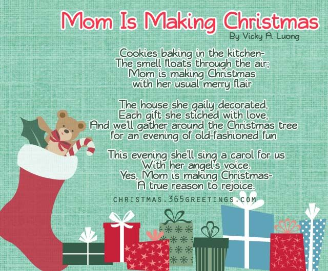 25+ Best Ideas About Christmas Poems On Pinterest