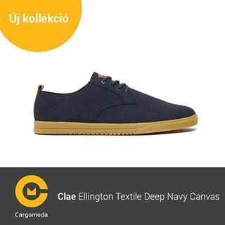 Clae Ellington Textile Deep Navy Canvas - Megérkezett az új tavaszi-nyári Clae kollekció! www.cargomoda.hu #cargomoda #clae #man #springsummercollection #spring #summer #mik #instahun #ikozosseg #budapest #hungary #divat #fashion #shoes #fashionlover #fas