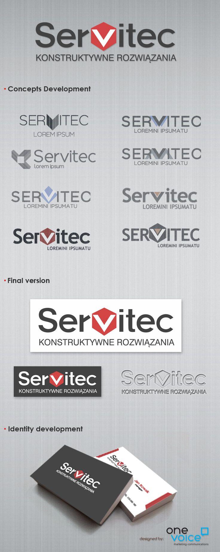 Servitec namind and logo design