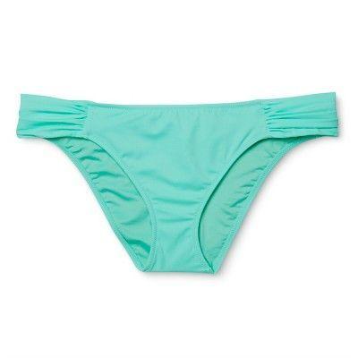 Women's Beach Hipster Bikini Bottom - Sea Breeze Blue - XL - Shade & Shore