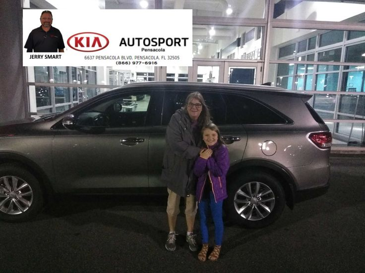 """Please join us in welcoming Ms. Bridgette Gunn and family to the KIA family!! Jerry Smart and KIA AutoSport of Pensacola sends a HUGE Congratulations to you on the purchase of your BRAND NEW 2018 KIA Sorento!! We thank you so much for making us your GO TO Dealer!! We look forward to serving you and your family with all your future sales and service needs!! """"WE WANNA SEE YA IN A KIA"""" #KIAFAMILY"""