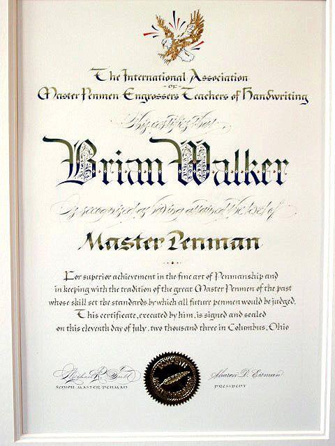 129 Best Master Penman Images On Pinterest Hand Type