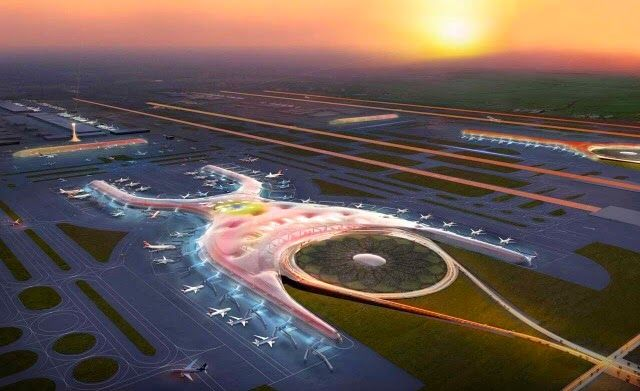 Archiconstru aprendiendo: Aeropuerto Internacional de México, Foster + Partners y Fernando Romero