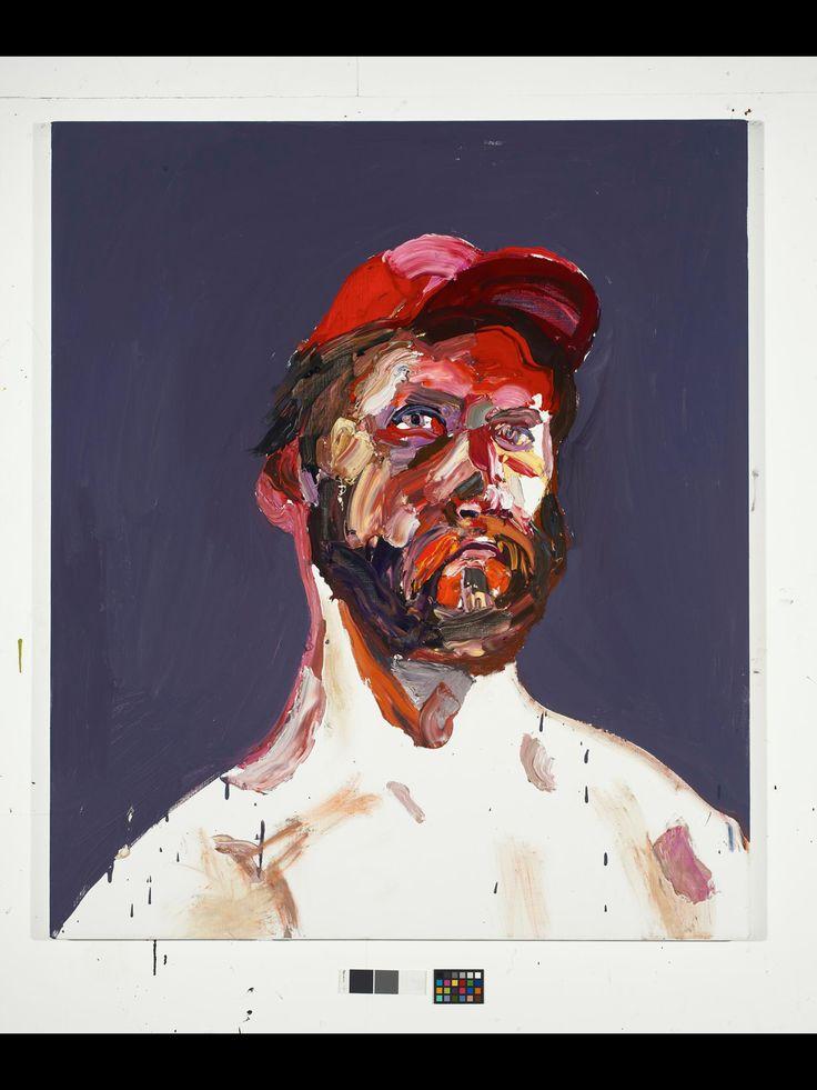 Ben Quilty. Self portrait.