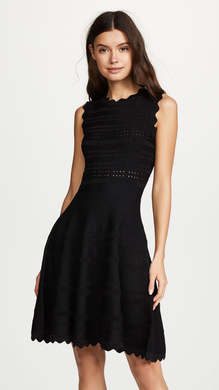 Yigal Azrouel Scarlet Circle Skirt Dress | SHOPBOP