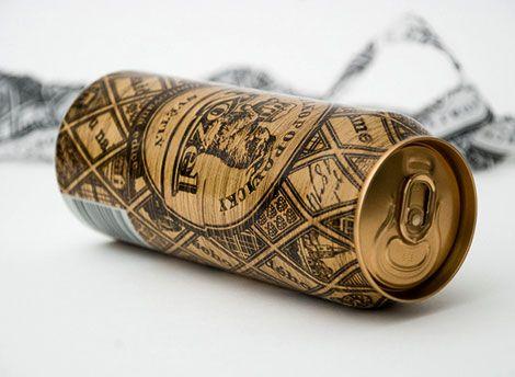 Velkopopovicky Kozel Beer Can Packaging