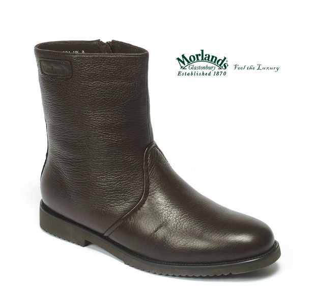 Our new mans boot is made in the finest leather and is fully lined in Morlands signature sheepskin.  Ideal for casual or more formal wear!  Shop here: http://www.morlandssheepskin.co.uk/products/mens-sheepskin-boots/item/rex
