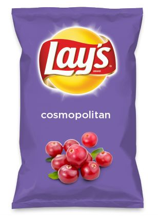 Wouldn't cosmopolitan be yummy as a chip? Lay's Do Us A Flavor is back, and the search is on for the yummiest flavor idea. Create a flavor, choose a chip and you could win $1 million! https://www.dousaflavor.com See Rules.