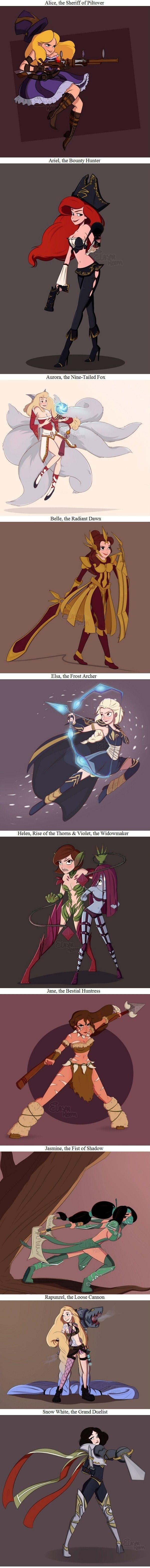 League of (Disney) ladies