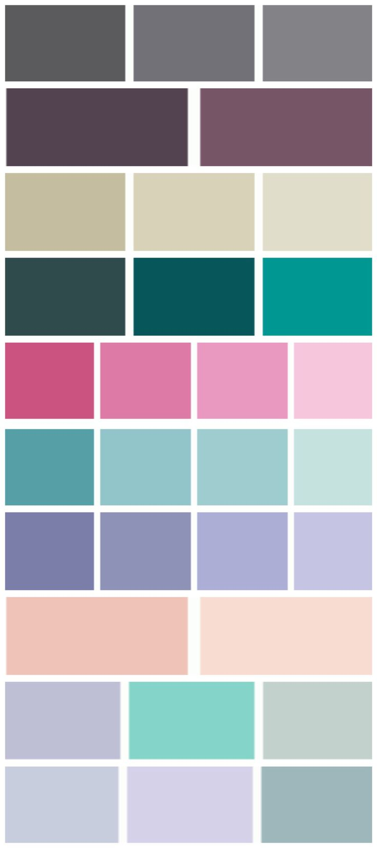 47 Best Images About Color Individual Palettes On