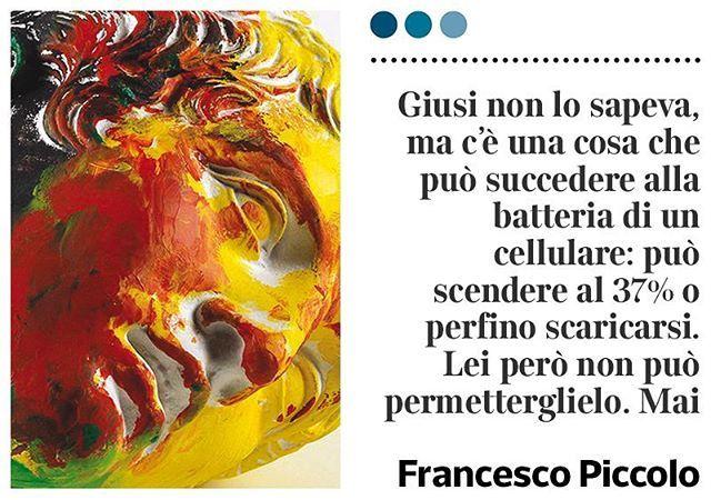 """Cellulari e carica batterie, il racconto di Francesco Piccolo su """"la Lettura"""" in…"""
